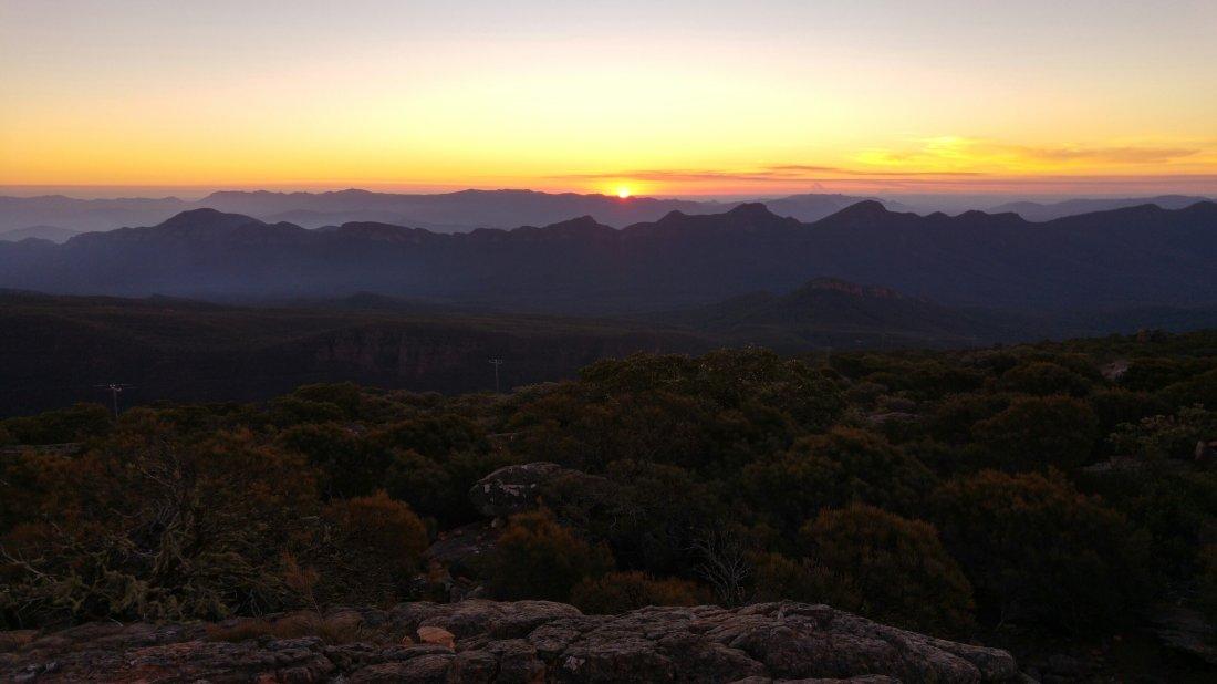 Mt. William sunset