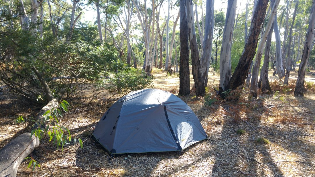 My campsite in Grampians