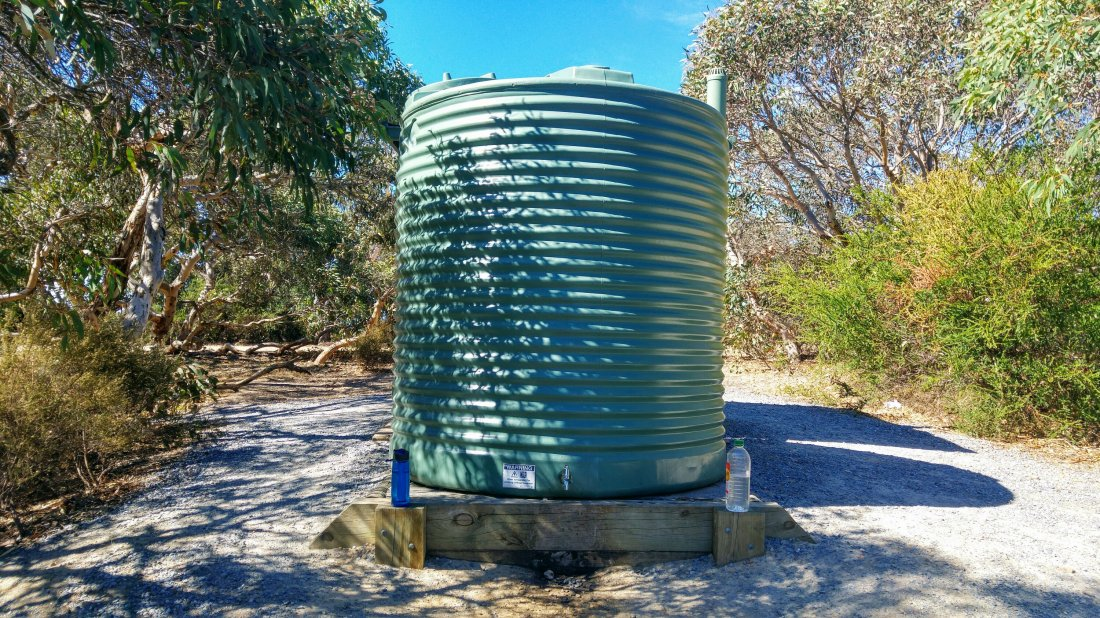 Rainwater silos