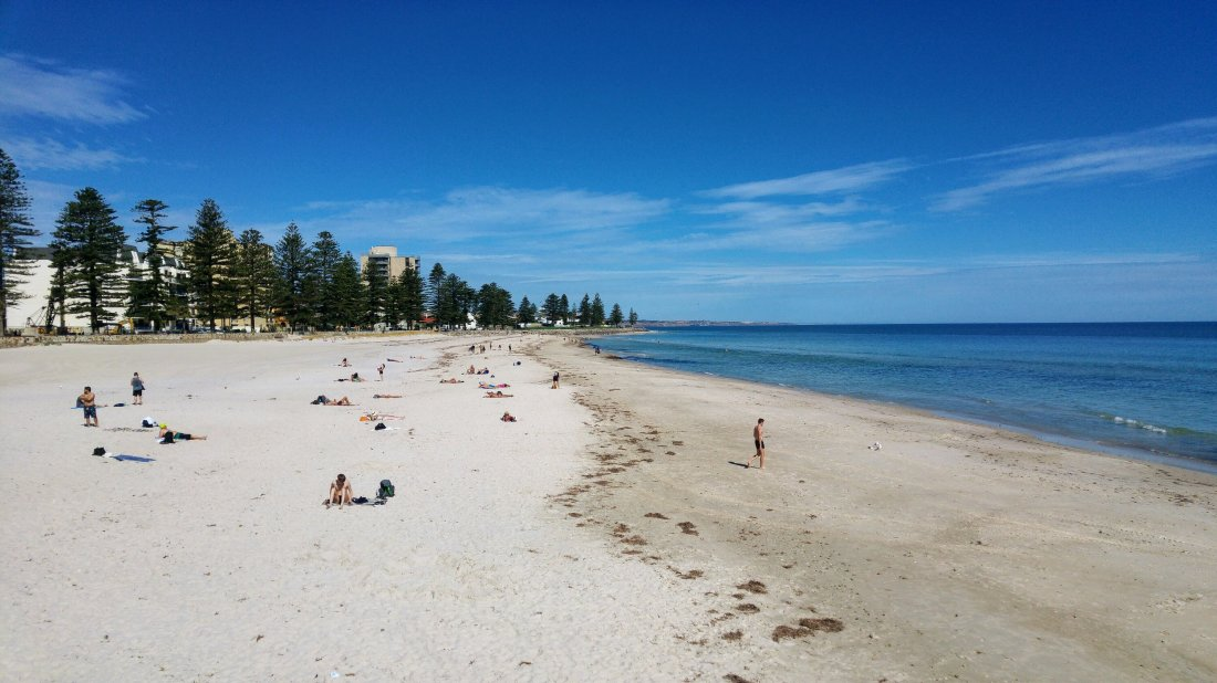 Beach in Adelaide