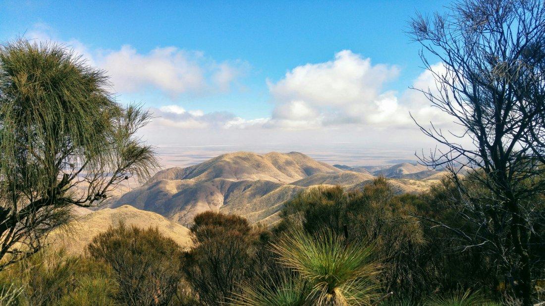 My first hike in Flinders Ranges