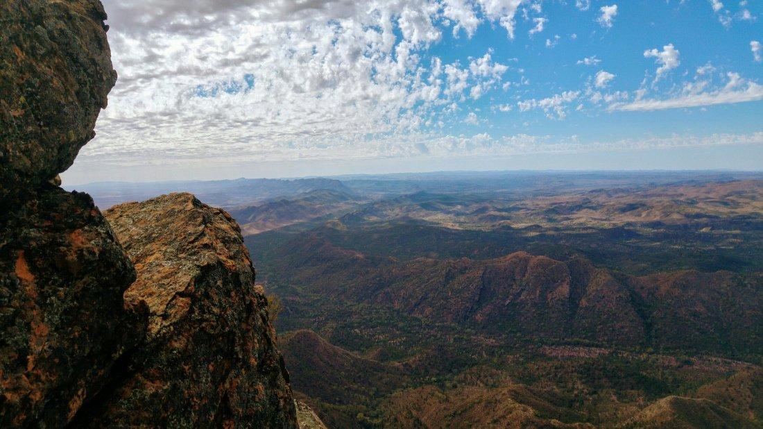 St. Mary Peak view
