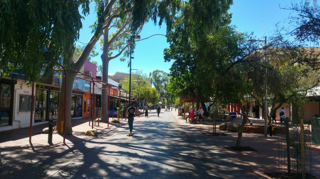 Alice Springs town centre