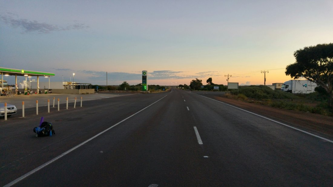Exit of Ceduna