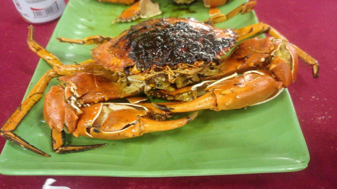 A tasty crab