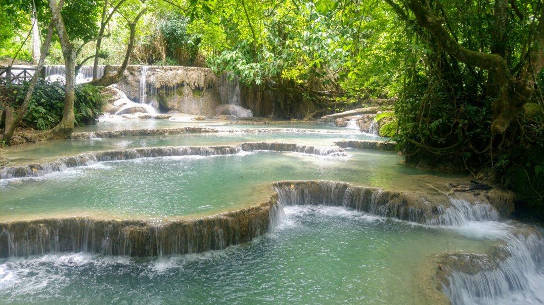 Kuang Si cascades
