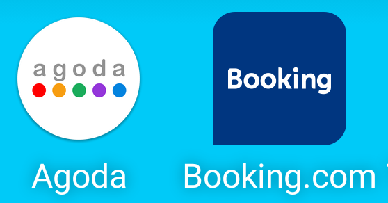 Agoda and Booking.com