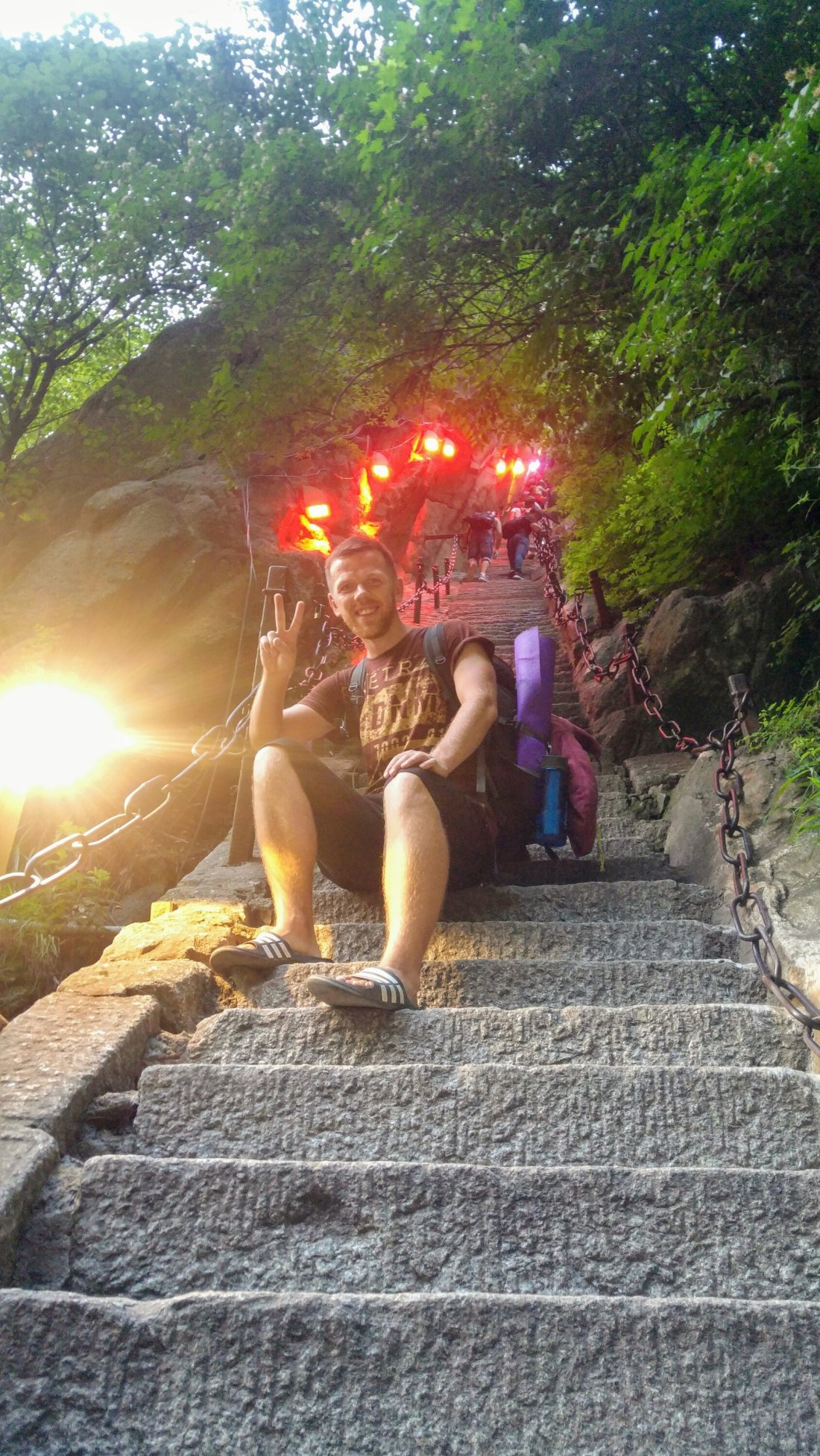 Hiking Mount Hua