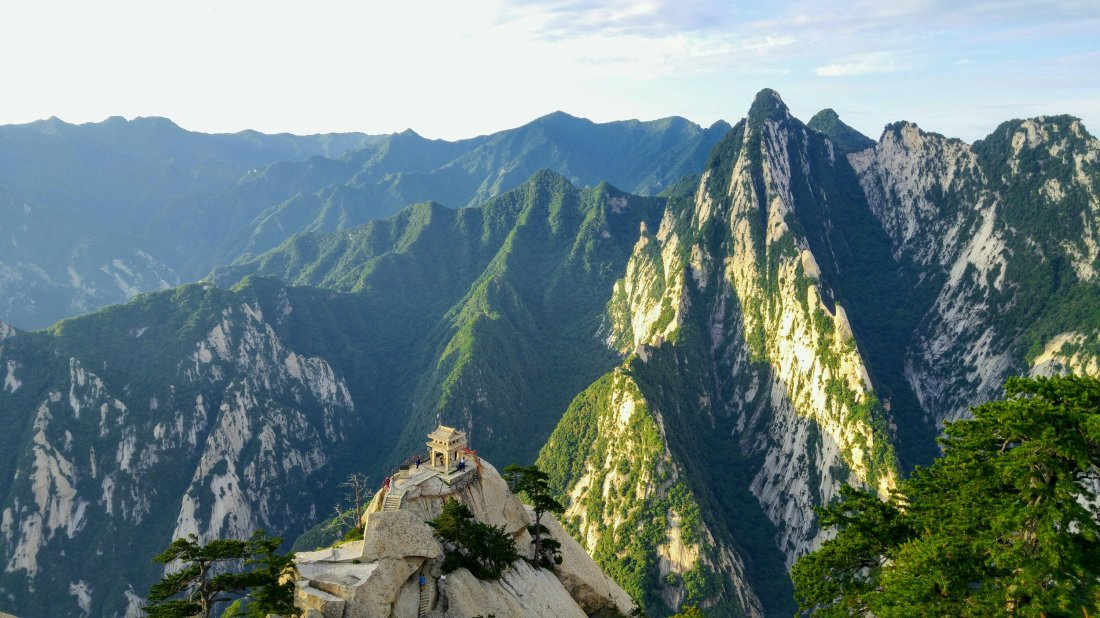 Mount Hua view