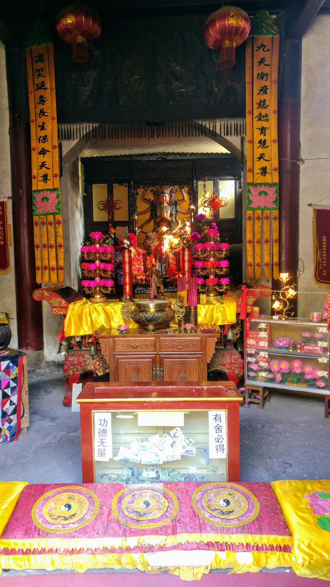 Temple at Mount Hua