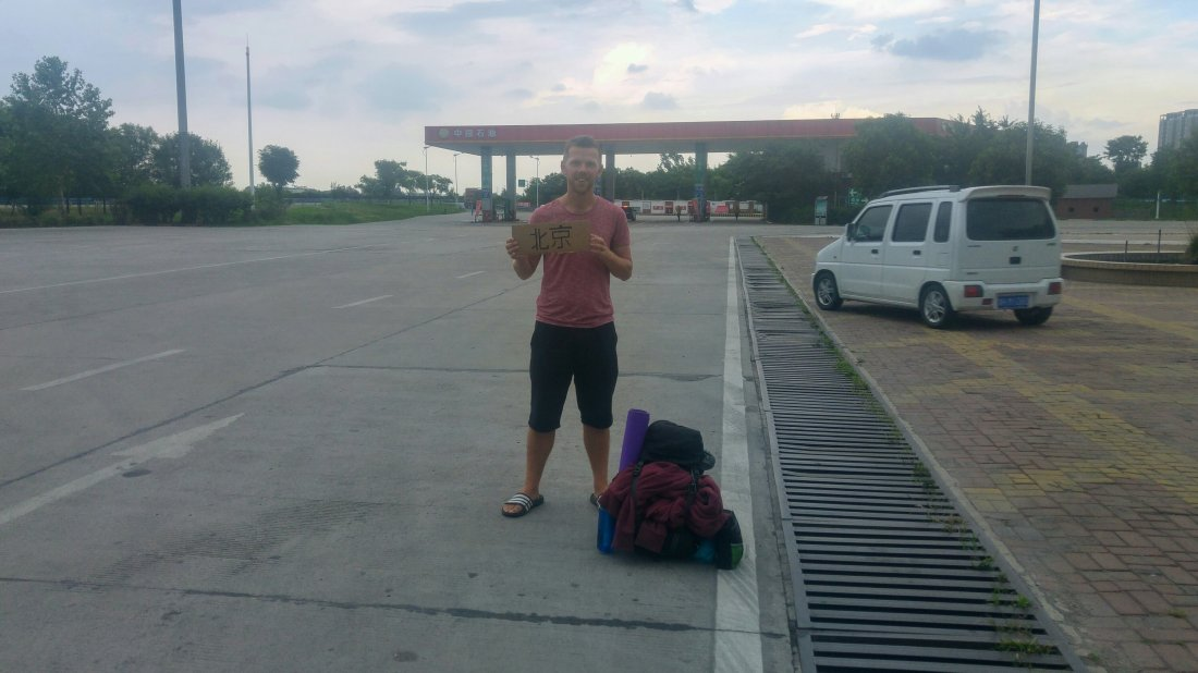 Hitchhiking to Beijing