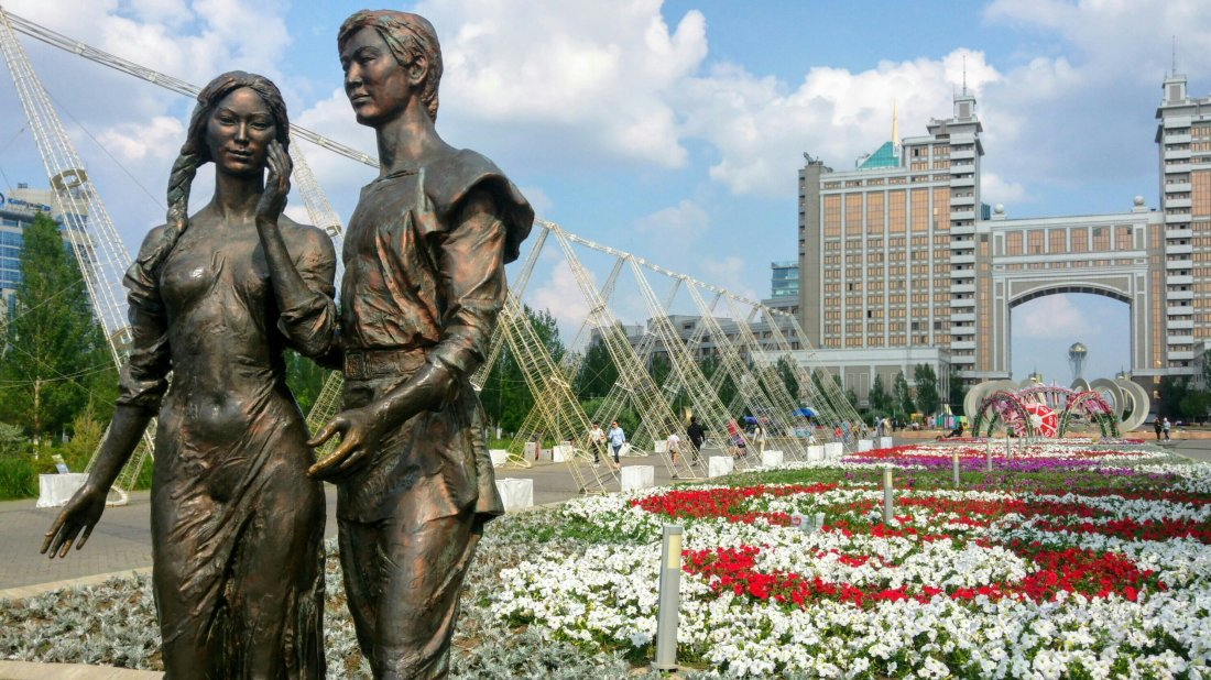 Astana city centre