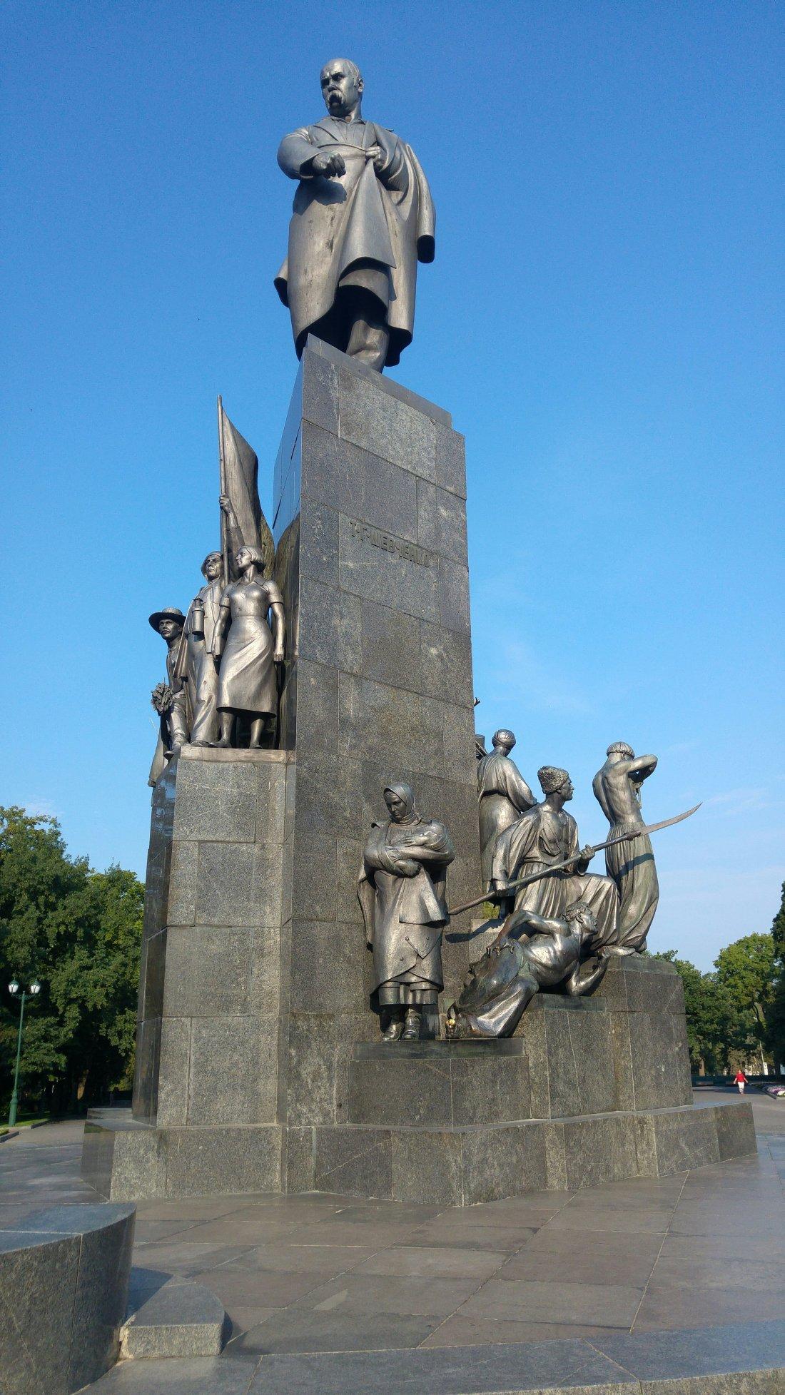 Shevchenka's monument