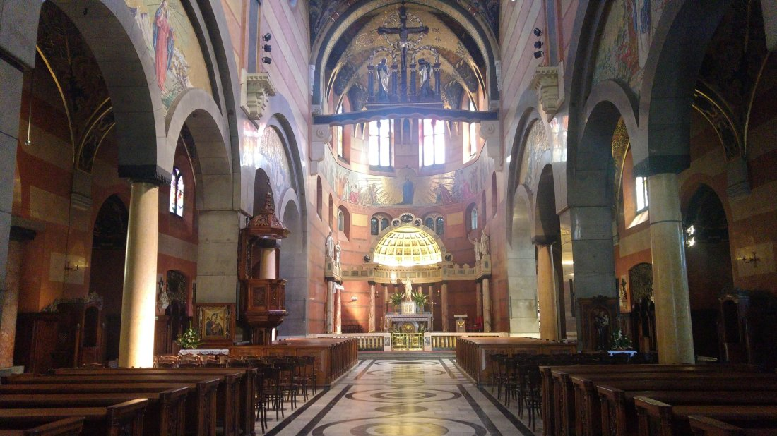 Basilica of the Sacred Hearth of Jesus in Krakow