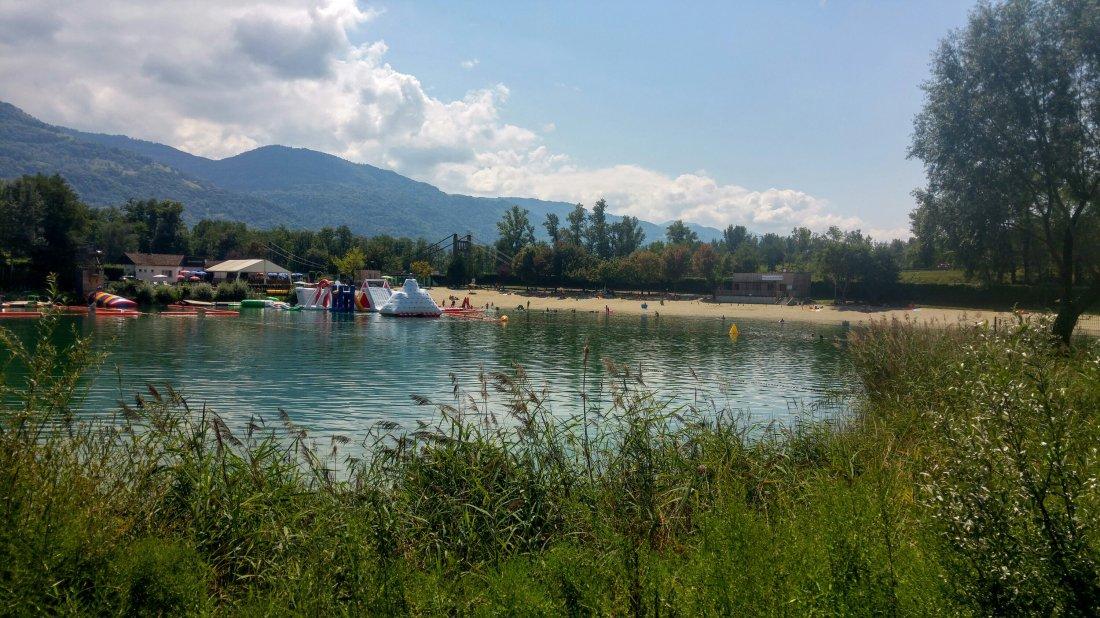 La Terrasse lake
