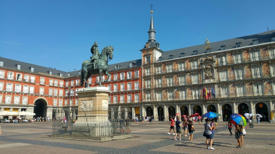 Plaza Mayor and King Philip III