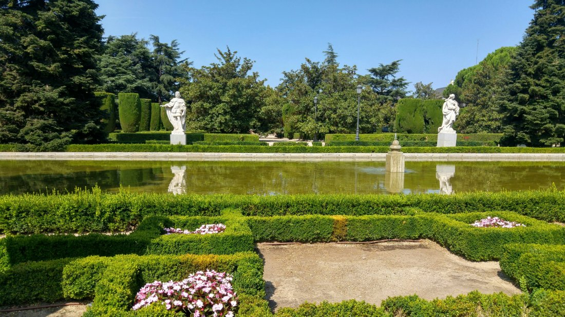 Sabatini royal gardens