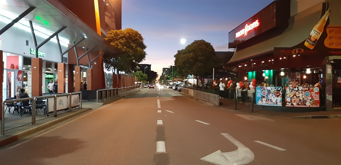 Mitchell Street in Darwin