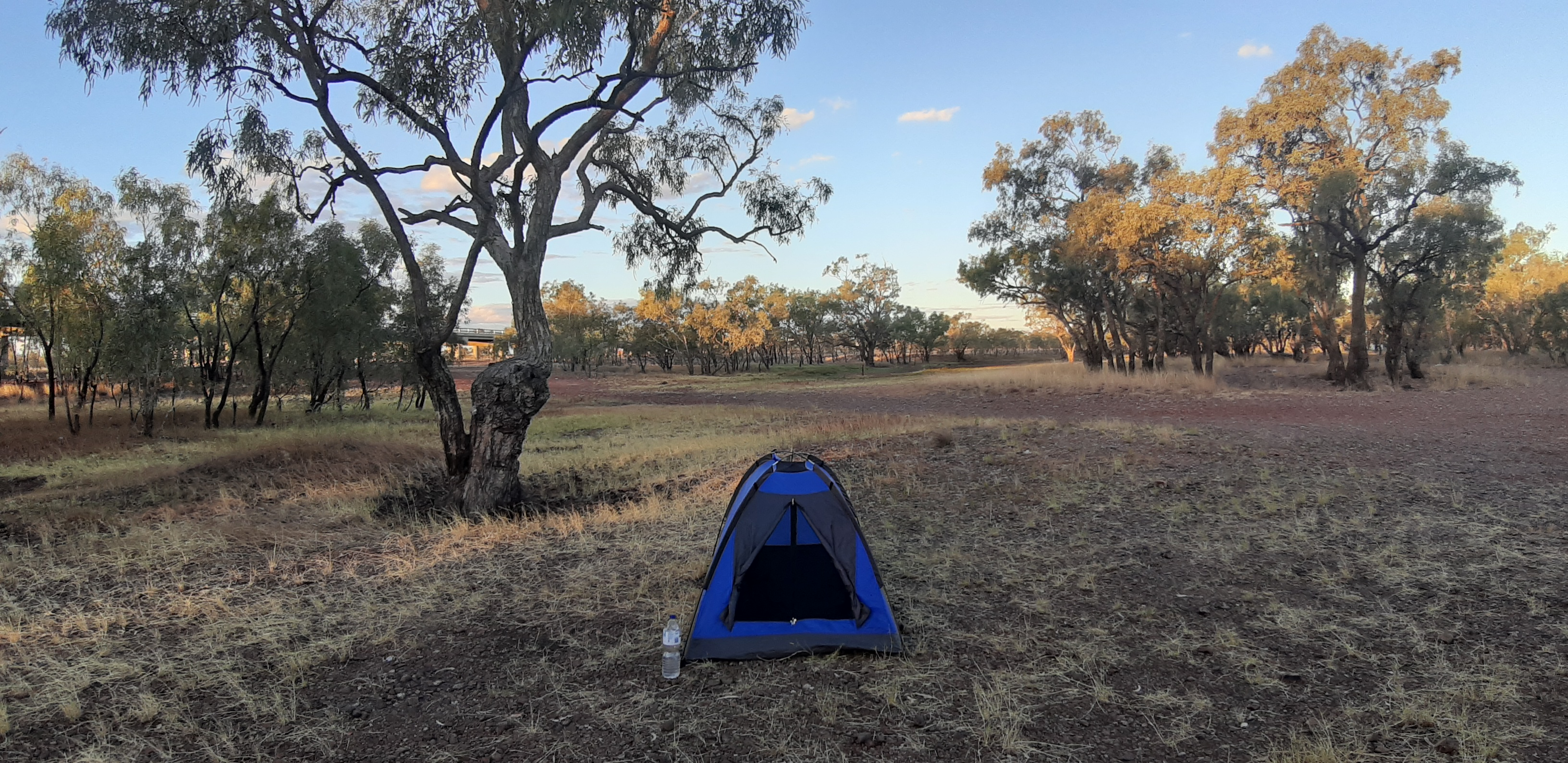 My campsite in Camooweal